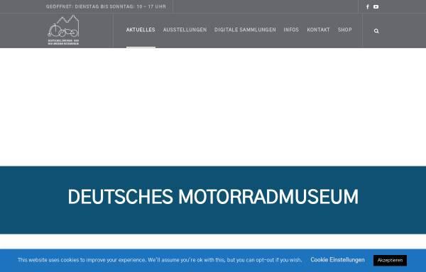 Vorschau von www.zweirad-museum.de, Zweiradmuseum