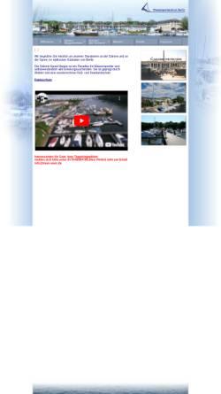 Vorschau der mobilen Webseite wassersportzentrum.de, Wassersportzentrum Berlin GmbH & Co. oHG
