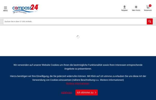 Vorschau von www.compass24.de, Compass Yachtzubehör