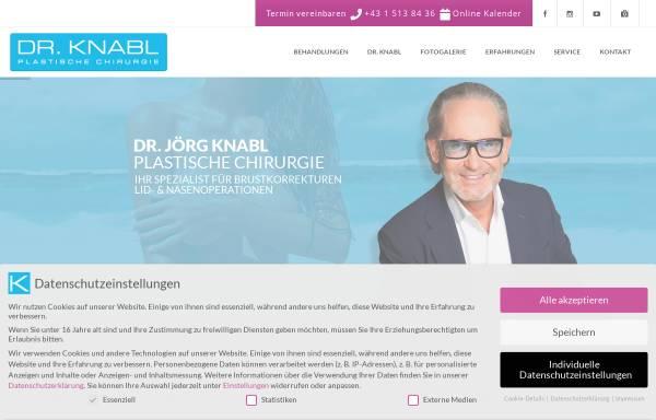 Vorschau von www.drknabl.at, Dr.Jörg Knabl