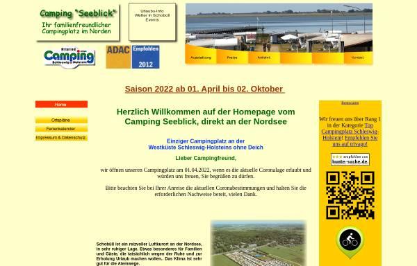 Vorschau von www.camping-seeblick.de, Camping Seeblick