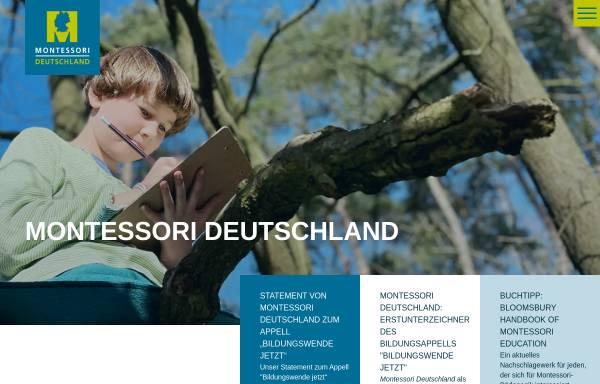 Vorschau von www.montessori-deutschland.de, Montessori Dachverband Deutschland e.V.