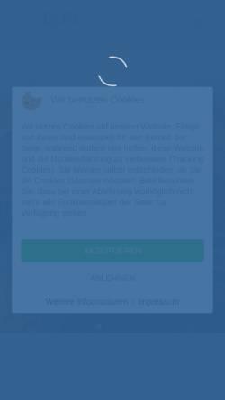 Vorschau der mobilen Webseite www.gefa-nms.de, Gesamtschule Faldera