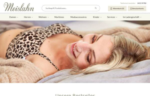 Vorschau von www.meislahn.de, Ferdinand Meislahn GmbH & Co. KG