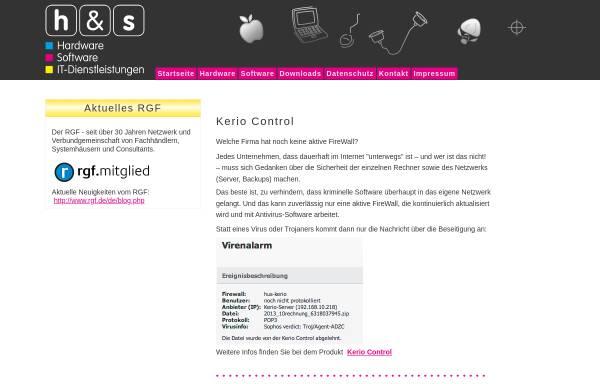Vorschau von www.hardsoft-kiel.de, Hard & Soft GmbH