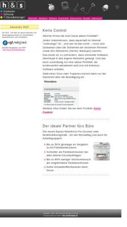 Vorschau der mobilen Webseite www.hardsoft-kiel.de, Hard & Soft GmbH