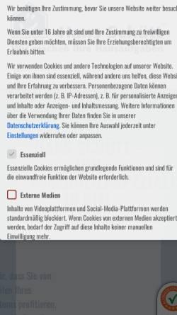 Vorschau der mobilen Webseite schuett.de, Hans Schütt Immobilien