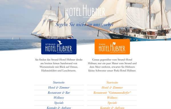 Vorschau von www.hotel-huebner.de, Strand-Hotel Hübner