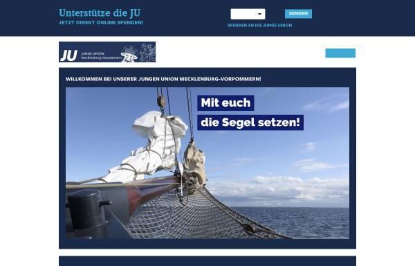 Vorschau von ju-mv.de, Junge Union Mecklenburg-Vorpommern