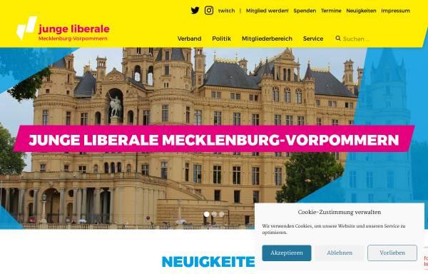Vorschau von www.julis-mv.de, JuLis - Junge Liberale Mecklenburg-Vorpommern