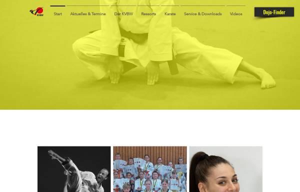 Vorschau von www.karate-kvbw.de, Karateverband Baden-Württemberg e.V.