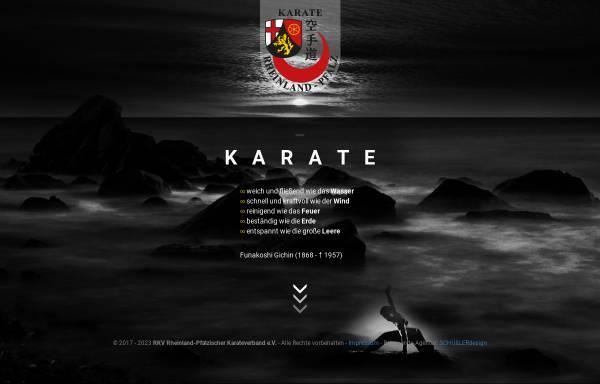 Vorschau von www.rkv-karate.de, Rheinland Pfälzischer Karate Verband e.V.