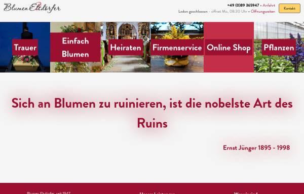 Vorschau von blumen-elsdoerfer.de, Blumen Elsdörfer