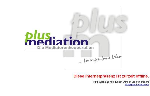 Vorschau von www.plusmediation.de, Plusmediation - Dr. G. Wolnik