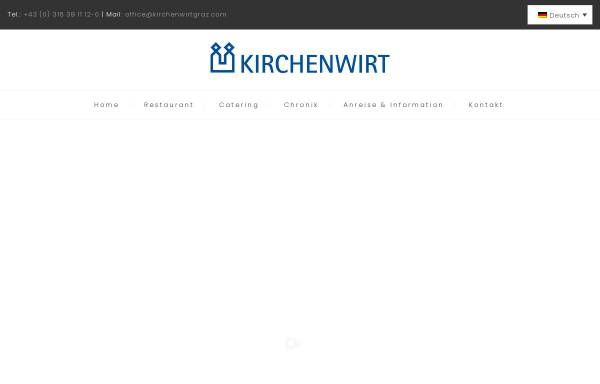 Vorschau von www.kirchenwirtgraz.com, Zum Kirchenwirt
