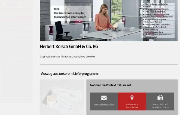 Vorschau von www.herbertkoelsch.com, Herbert Kölsch GmbH & Co. KG