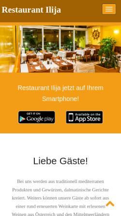 Restaurant Ilija Gästehäuser Lebensmittel Gaststätten Und