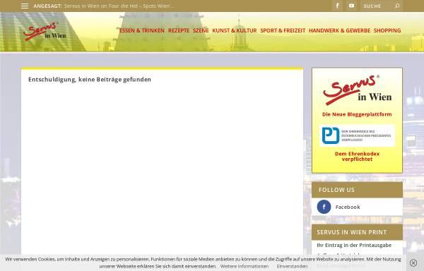 Vorschau von www.servus-in-wien.at, Zum Fein-Spitz