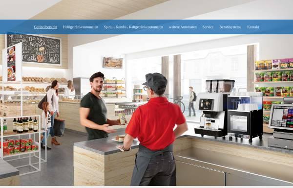 Vorschau von www.ash-kaffeeautomaten.de, Automaten Service Hannover GmbH