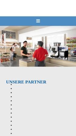 Vorschau der mobilen Webseite www.ash-kaffeeautomaten.de, Automaten Service Hannover GmbH