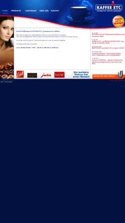 Vorschau der mobilen Webseite www.kaffee-etc.de, Automaten Service Meissner - Maik Meissner