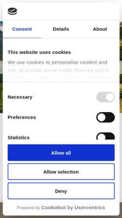 Vorschau der mobilen Webseite www.almhuette.net, Berghof Silbertal