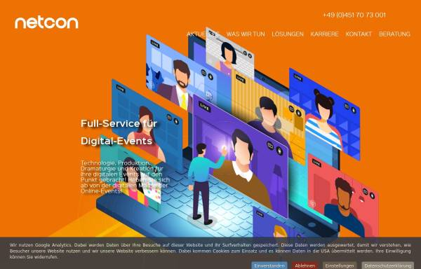 Vorschau von www.netcon.de, Netcon Interactive GmbH