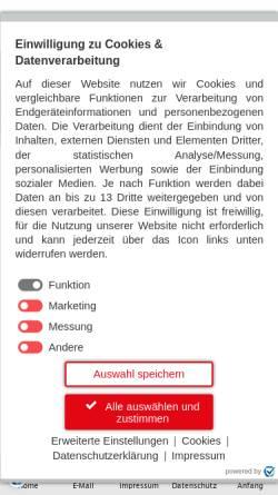 Vorschau der mobilen Webseite www.bistum-augsburg.de, Augsburg - Bistum