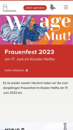 Vorschau der mobilen Webseite bistum-magdeburg.de, Magdeburg - Bistum