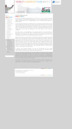 Vorschau der mobilen Webseite www.worldyouthday.de, Reisen zum Weltjugendtag 2008