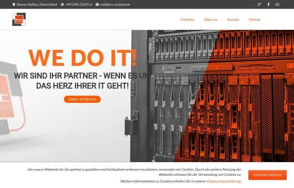 Vorschau von www.ncc-systems.de, NCC Systems GmbH