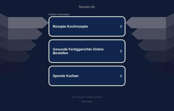 Vorschau von www.fassan.de, Fassan GmbH