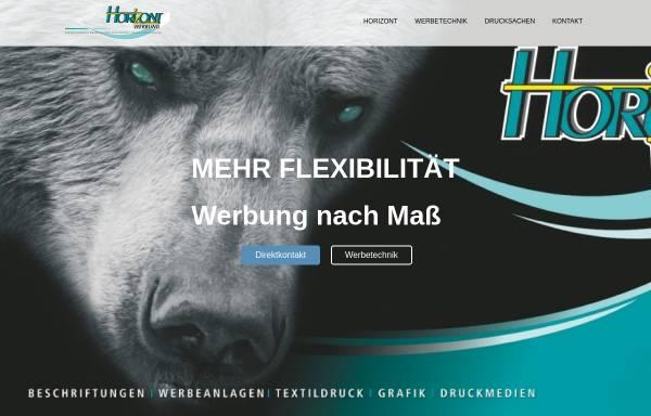 Vorschau von www.horizont-werbung.de, Horizont Werbung