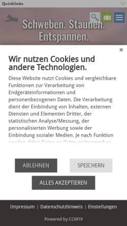 Vorschau der mobilen Webseite www.bad-harzburg.de, Bad Harzburg