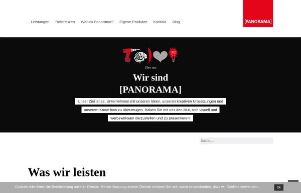 Vorschau von www.panorama-werbung.com, Panorama Werbe GmbH