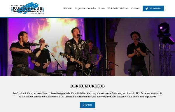 Vorschau von www.kulturklub-bad-harzburg.de, Kulturklub Bad Harzburg e.V.
