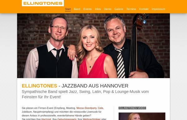 Vorschau von www.ellingtones.de, Ellingtones Jazzband