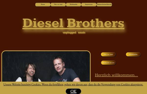Vorschau von www.dieselbrothers.de, Diesel Brothers