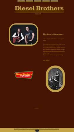 Vorschau der mobilen Webseite www.dieselbrothers.de, Diesel Brothers