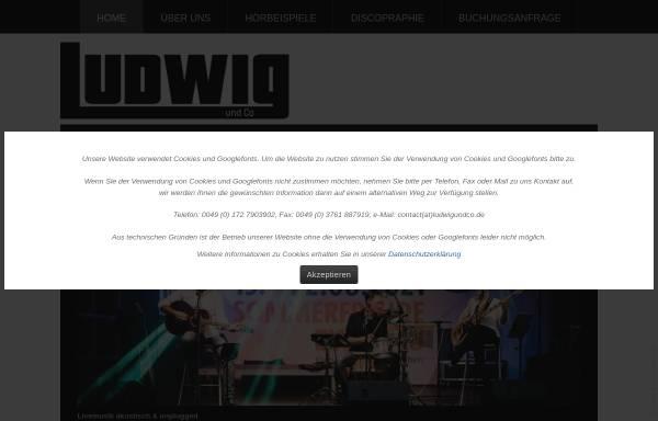 Vorschau von www.ludwigundco.de, Ludwig und Co