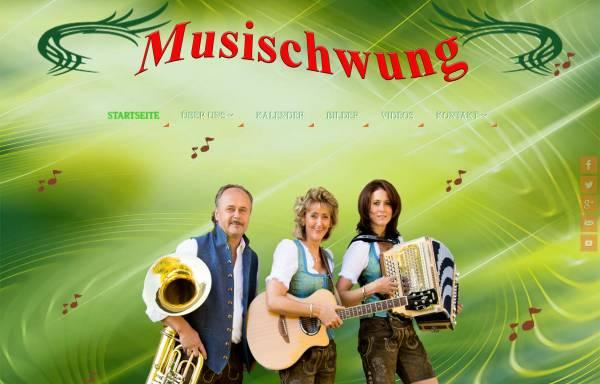 Vorschau von www.musischwung.com, Musischwung