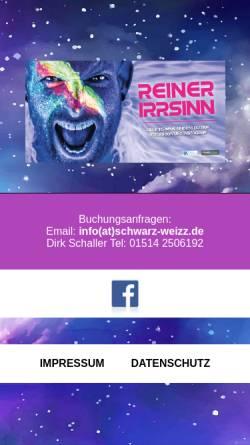 Vorschau der mobilen Webseite www.reiner-irrsinn.de, Reiner Irrsinn