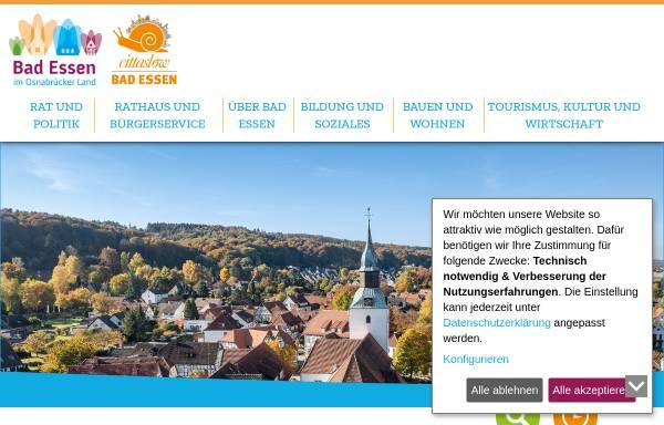 Vorschau von www.badessen.de, Gemeinde Bad Essen