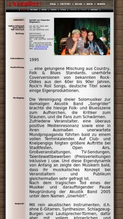 Vorschau der mobilen Webseite www.3voices.de, 3 Voices