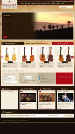 Vorschau der mobilen Webseite www.mundo-flamenco.com, Mundo Flamenco, Inh. Johannes Inhoffen