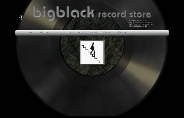Vorschau von www.bigblack.de, Bigblack Records