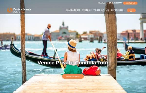 Vorschau von veniceevents.com, Venice Events