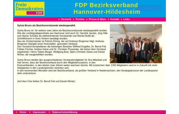 Vorschau von www.fdp-hannover-hildesheim.de, FDP-Bezirksverband Hannover-Hildesheim