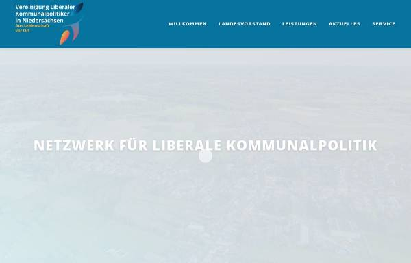Vorschau von www.vlk-nds.de, Vereinigung Liberaler Kommunalpolitiker Niedersachsen