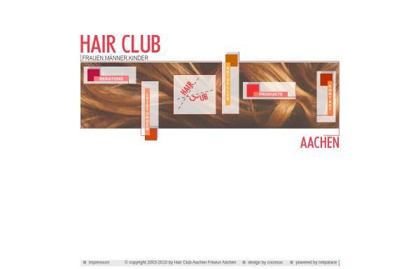 Vorschau von www.hair-club.de, Hair Club Aachen